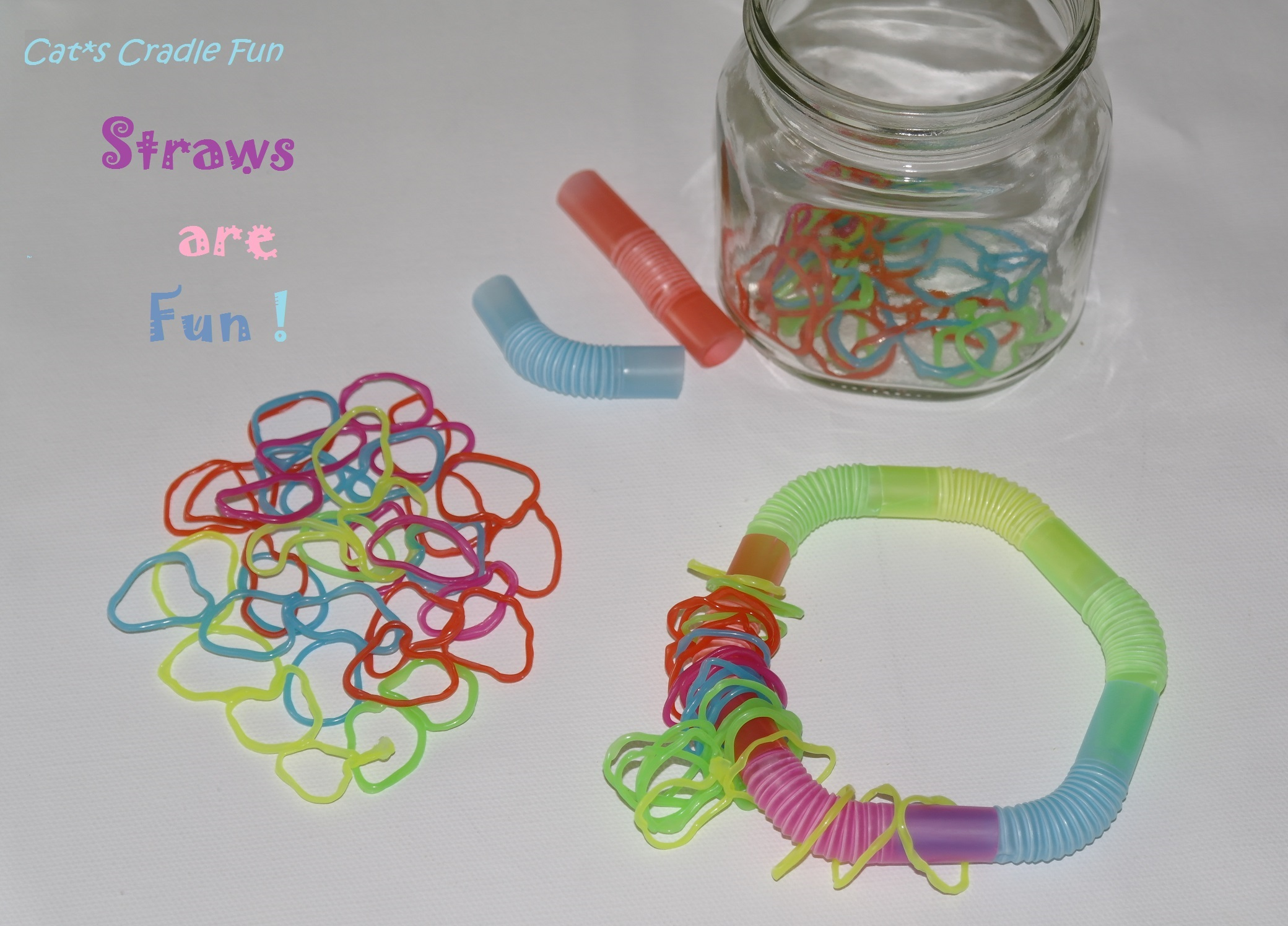 6 Amazing Drink Straws Art