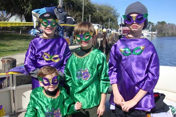 mardi gras kids mask